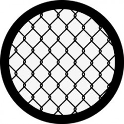 Rosco Steel Gobo - Chain Link