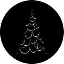 Rosco Steel Gobo - Christmas Tree B