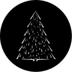 Rosco Steel Gobo - Christmas Tree C