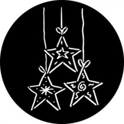 Rosco Steel Gobo - Dangling Stars
