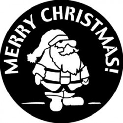 Rosco Steel Gobo - Merry Christmas 2