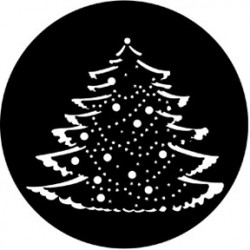 Rosco Steel Gobo - Christmas Tree Complete