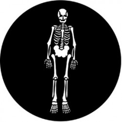 Rosco Steel Gobo - Skeleton