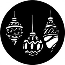 Rosco Steel Gobo - Baubles