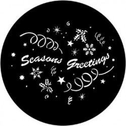 Rosco Steel Gobo - Seasons Greetings