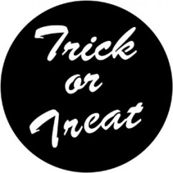 Rosco Steel Gobo - Trick or Treat