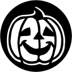 Rosco Steel Gobo - Happy Pumpkin