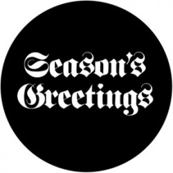 Rosco Steel Gobo - Seasons Greeting 2