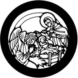 Rosco Steel Gobo - Nativity