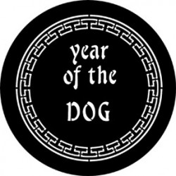 Rosco Steel Gobo - Year Of The Dog