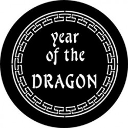 Rosco Steel Gobo - Year Of The Dragon