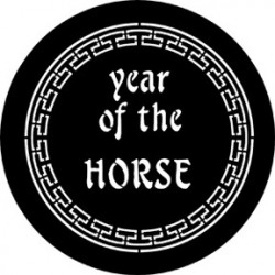 Rosco Steel Gobo - Year Of The Horse