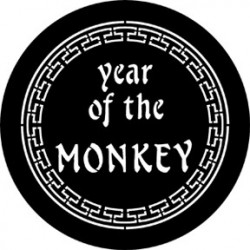Rosco Steel Gobo - Year Of The Monkey