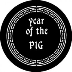 Rosco Steel Gobo - Year Of The Pig
