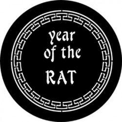 Rosco Steel Gobo - Year Of The Rat