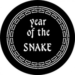 Rosco Steel Gobo - Year Of The Snake