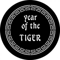 Rosco Steel Gobo - Year Of The Tiger