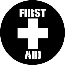 Rosco Steel Gobo - First Aid