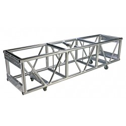 Applied NN 24inX20.5inX120in Source Four Double Hung Pre-Rigged Truss