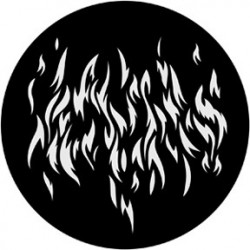 Rosco Steel Gobo - Flames 7