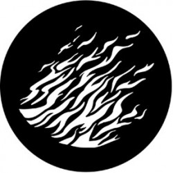 Rosco Steel Gobo - Flames 2