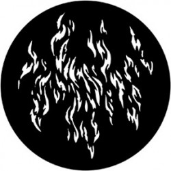 Rosco Steel Gobo - Fire/Waves