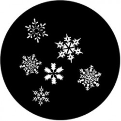 Rosco Steel Gobo - Snowfall