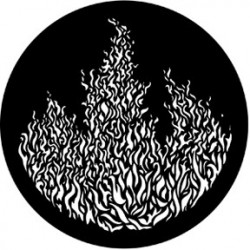 Rosco Steel Gobo - Flames 3
