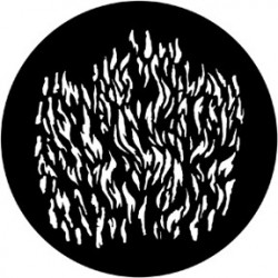 Rosco Steel Gobo - Flames 4