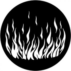 Rosco Steel Gobo - Flames 5