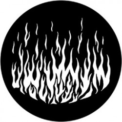 Rosco Steel Gobo - Flames 6