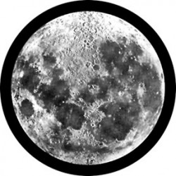 Rosco Glass Gobo - Moon Glass