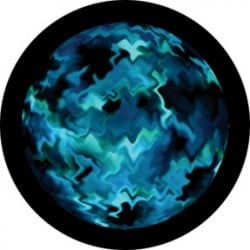 Rosco Glass Gobo - Aquatic Mix
