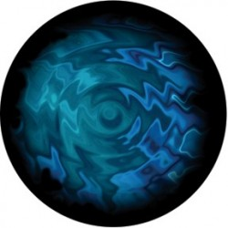 Rosco Glass Gobo - Aquatic Swirls