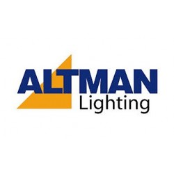 Altman Track Adapter Lightolier Style - Screw Terminal - Black Finish