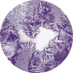 Rosco Glass Gobo - Indigo Frosted