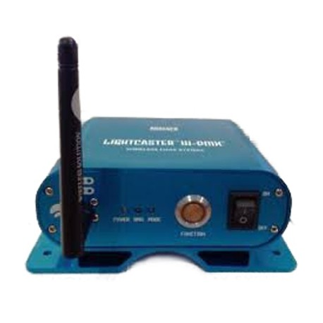 Blizzard 2.4Ghz Wireless DMX Transceiver with Integrated Clamp