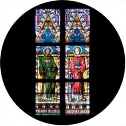 Rosco Glass Gobo - Liturgical Stained Glass