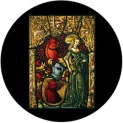 Rosco Glass Gobo - Medieval Stained Glass