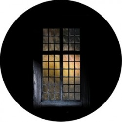 Rosco Glass Gobo - Candlelight Window