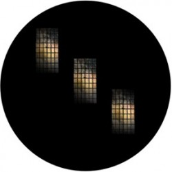 Rosco Glass Gobo - Tri Windows