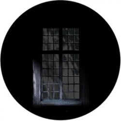 Rosco Glass Gobo - Gloomy Window
