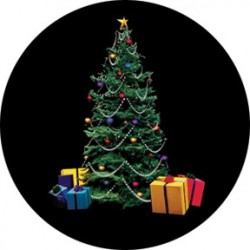 Rosco Glass Gobo - Tree & Presents