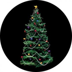 Rosco Glass Gobo - Decorated Tree