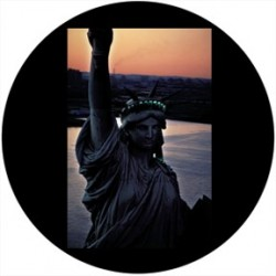 Rosco Glass Gobo - Sunset Liberty