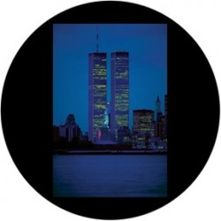 Rosco Glass Gobo - Twin Towers