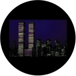 Rosco Glass Gobo - Twin Towers 2
