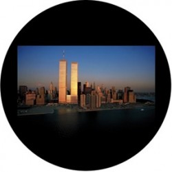 Rosco Glass Gobo - Twin Towers 3