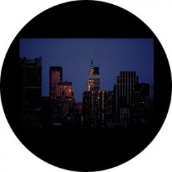 Rosco Glass Gobo - NYC Skyline