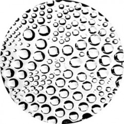 Rosco Image Glass - Foam Bubbles - B size